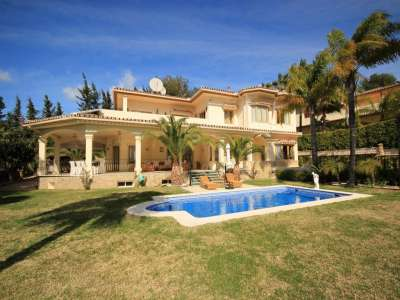 5 bedroom villa for sale, Altos Reales, Marbella, Malaga Costa del Sol, Marbella Golden Mile