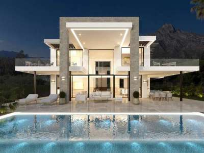 4 bedroom villa for sale, Puente Romano, Marbella, Malaga Costa del Sol, Marbella Golden Mile