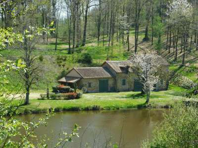 9 bedroom mill for sale, Saint Saud Lacoussiere, Dordogne, Dordogne Perigord Vert