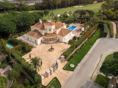 Auction of a Luxury 9 Bedroom Estate with Golf Course Views in Quinta do Lago, Portugal