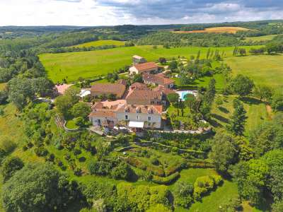 Superb and Versatile Country Estate for Sale in the Dordogne with 25 Bedrooms and 76 Hectares.