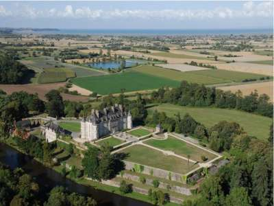 20 bedroom French chateau for sale, Brittany, Cote d