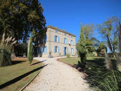 14 bedroom French chateau for sale, Lauzun, Lot-et-Garonne, Aquitaine