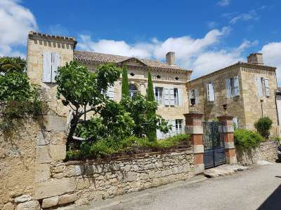 7 bedroom French chateau for sale, Valence, Tarn-et-Garonne, Gascony