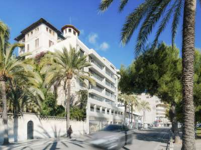 3 bedroom penthouse for sale, Paseo Maritimo, Palma, Palma Area, Mallorca
