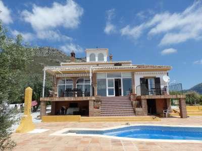 4 bedroom villa for sale, Alcaucin, Malaga Costa del Sol, Andalucia