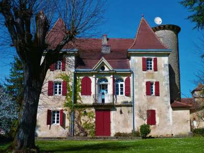 5 bedroom French chateau for sale, Lamonzie Montastruc, Dordogne, Aquitaine
