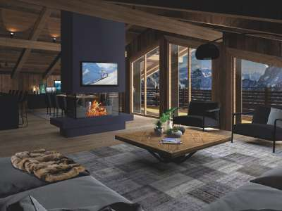 3 bedroom penthouse for sale, Megeve, Haute-Savoie, Rhone-Alpes