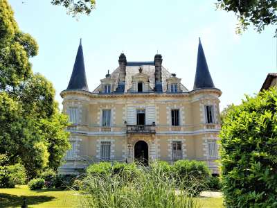 15 bedroom French chateau for sale, Habas, Landes, Gascony