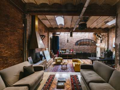 Unique Converted Warehouse for Sale in Barcelona, Spain