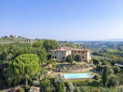 7 bedroom villa for sale, San Casciano in Val di Pesa, Florence, Chianti Wine Region