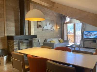 3 bedroom penthouse for sale, Meribel, Savoie, Three Valleys Ski