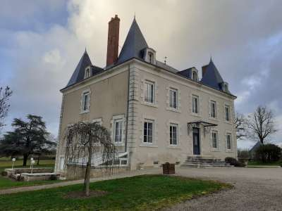 8 bedroom French chateau for sale, Journet, Vienne, Poitou-Charentes