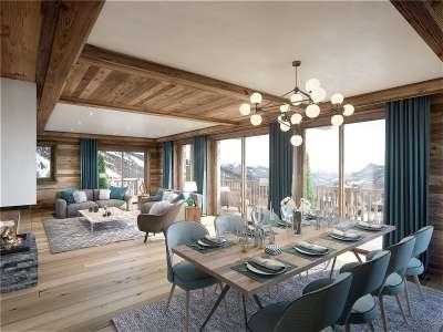 5 bedroom penthouse for sale, Meribel, Savoie, Three Valleys Ski