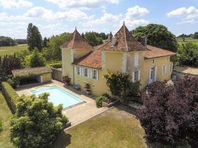 6 bedroom French chateau for sale, Mareuil en Perigord, Brantome, Dordogne, Dordogne Perigord Vert