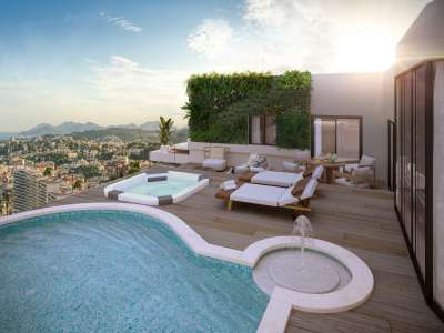 3 bedroom penthouse for sale, Le Cannet, Cannes, French Riviera