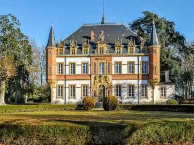 Beautiful 12 Bedroom Chateau for Sale, close to the Pyrenees in South West France