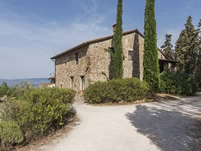 Enchanting Estate in Tuscany for Sale with Guest House suitable for B&B with income potential