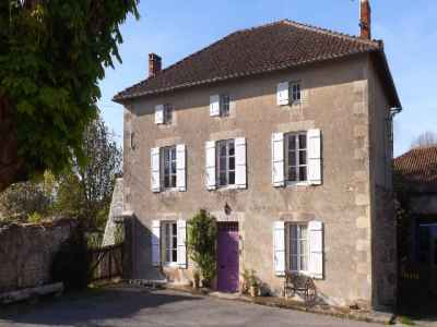 6 bedroom manor house for sale, Roumaziers Loubert, Charente, Poitou-Charentes