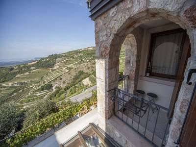 Rustic Farmhouse with Bed & Breakfast and Restaurant Bar for Sale in the Verona Lake Garda area.