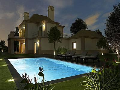 Image 1 | 4 bedroom villa for sale with 0.31 hectares of land, Goldra, Central Algarve, Algarve 128775