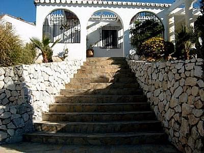 Image 3 | 3 bedroom villa for sale with 1,300m2 of land, Competa, Malaga Costa del Sol, Andalucia 129867
