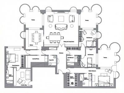 Image 8 | 4 bedroom apartment for sale, Le Florestan, Monte Carlo, French Riviera 181147
