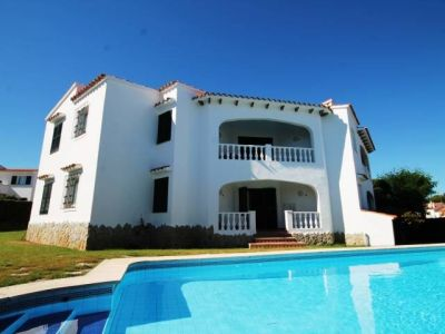 Image 2 | Villa of 4 apartments for rent in large garden with pool in Punta Grossa, Menorca for sale  196792
