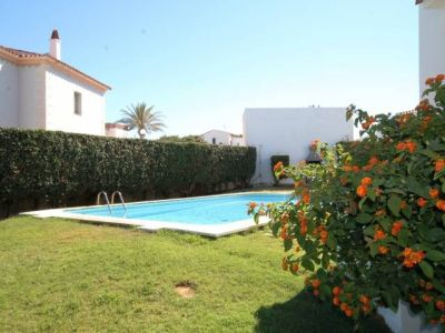 Image 4 | Villa of 4 apartments for rent in large garden with pool in Punta Grossa, Menorca for sale  196792