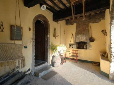 Image 10 | 7 bedroom farmhouse for sale with 1 hectares of land, Radicondoli, Siena, Tuscany 196890