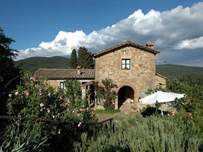 Image 9 | 7 bedroom farmhouse for sale with 1 hectares of land, Radicondoli, Siena, Tuscany 196890