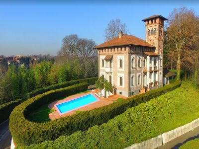 Image 1 | 7 bedroom villa for sale with 1.97 hectares of land, Milan, Lombardy 198390