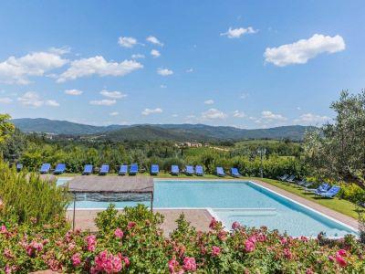 Image 5 | Prestigious Estate with a total of 80 bedrooms for sale, located in Bucine, Arezzo 200986