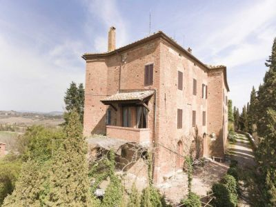Image 19 | 20 bedroom manor house for sale with 1 hectares of land, Montalcino, Siena, Tuscany 200988