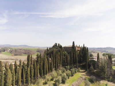 Image 2 | 20 bedroom manor house for sale with 1 hectares of land, Montalcino, Siena, Tuscany 200988