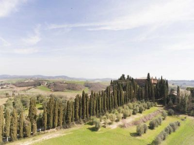 Image 3 | 20 bedroom manor house for sale with 260 hectares of land, Montalcino, Siena, Tuscany 200988