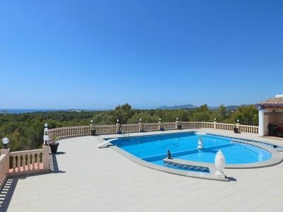 Image 2 | 7 bedroom villa for sale with 1.55 hectares of land, Cala Llenya, Eastern Ibiza, Ibiza 201077