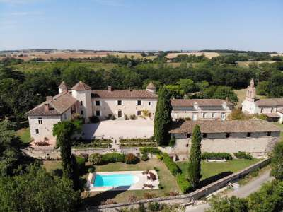 Image 1 | 8 bedroom French chateau for sale with 17.7 hectares of land, Gers, Gers , Gascony 202561