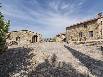 Image 6 | Enchanting Estate in Tuscany for Sale with Guest House suitable for B&B with income potential 202790
