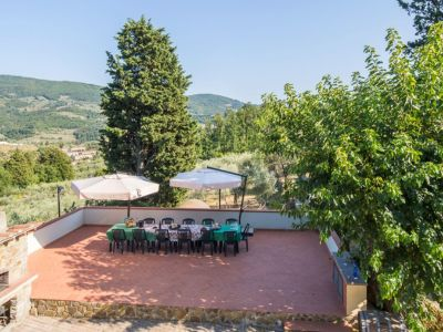 Image 2   Historic Farmstead with Productive Vinyard and Olive Groves for sale in Tuscany with 18 hectares 203334