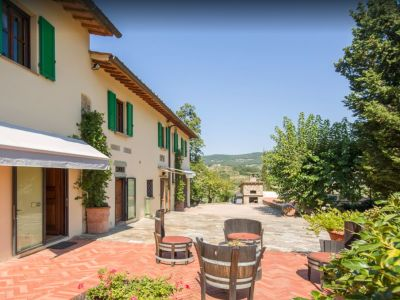 Image 28   Historic Farmstead with Productive Vinyard and Olive Groves for sale in Tuscany with 18 hectares 203334