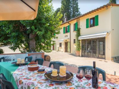 Image 3   Historic Farmstead with Productive Vinyard and Olive Groves for sale in Tuscany with 18 hectares 203334