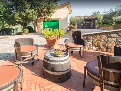 Image 4   Historic Farmstead with Productive Vinyard and Olive Groves for sale in Tuscany with 18 hectares 203334