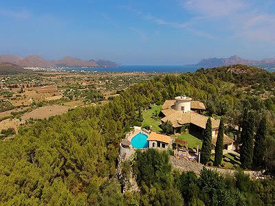 Image 4 | 4 bedroom villa for sale with 6 hectares of land, Pollenca, Northern Mallorca, Mallorca 204190