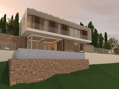Image 10 | 5 bedroom villa for sale with 1,352m2 of land, Costa de la Calma, South Western Mallorca, Mallorca 204194