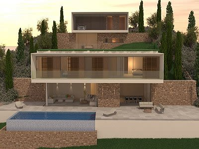 Image 11 | 5 bedroom villa for sale with 1,352m2 of land, Costa de la Calma, South Western Mallorca, Mallorca 204194