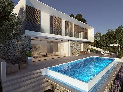 Image 4 | 5 bedroom villa for sale with 1,352m2 of land, Costa de la Calma, South Western Mallorca, Mallorca 204194