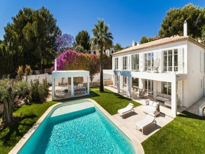 Image 2 | 4 bedroom villa for sale with 1,246m2 of land, Bendinat, South Western Mallorca, Mallorca 204322