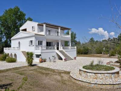 Image 1   3 bedroom villa for sale with 0.45 hectares of land, Lefkimmi, Corfu, Ionian Islands 206330