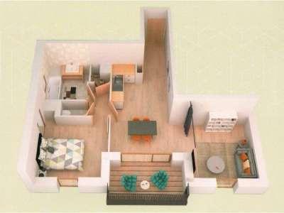 Image 2 | 1 bedroom apartment for sale, Saint Gervais les Bains, Haute-Savoie , Rhone-Alpes 206752